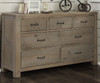 Everglades 7 Drawer Dresser Driftwood | NE Kids Furniture | NE10500