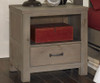 Everglades Nightstand Driftwood | NE Kids Furniture | NE10530