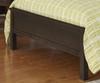 Everglades Bailey Upholstered Bed Full Size Espresso   26986   NE11015