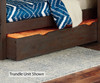 Everglades Alex Panel Bed Twin Size with Trundle Espresso | NE Kids Furniture | NE11020X