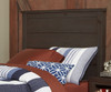 Everglades Alex Panel Bed Twin Size with Trundle Espresso | 26989 | NE11020X