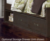 Everglades Bookcase Bed Twin Size Espresso | NE Kids Furniture | NE11060