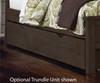 Everglades Bookcase Bed Twin Size Espresso   26995   NE11060