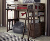 Everglades Loft Bed Twin Size Espresso | NE Kids Furniture | NE11070