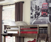 Everglades Loft Bed with Full Size Lower Bed Espresso | 26999 | NE11070-LWB