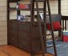 Everglades Loft Bed Full Size Espresso | 27000 | NE11080