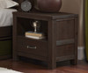 Everglades Nightstand Espresso | NE Kids Furniture | NE11530