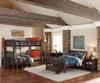 Everglades Clothes Hamper Espresso | NE Kids Furniture | NE11580