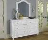 Lakehouse 8 Drawer Dresser White | NE Kids Furniture | NE1500