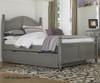 Lakehouse Payton Twin Bed with Trundle Stone | NE Kids | NE2010-2570