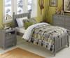 Lakehouse Nightstand Stone   NE Kids Furniture   NE2530