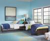Pulse L-Shape Bed Chocolate | NE Kids Furniture | NE32051N