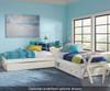 Pulse L-Shape Bed White | 27081 | NE33051N