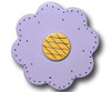 Pastel Purple Lolli Flower Drawer Pull | One World | OW-DP34562