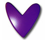 Purple Heart Drawer Pull | One World | OW-DP595