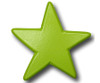 Green Star Drawer Pull | One World | OW-DP604