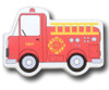 Fire Truck Drawer Pull | One World | OW-DP667