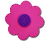 Satin Fuschia Lolli Flower Drawer Pull | One World | OW-DP72074