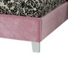 Young Parisian Upholstered Bed Twin Size Pink | 27362 | ST-6515165152