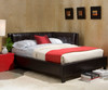 Rochester Cornerbed Full Size Black | Standard Furniture | ST-9205392054
