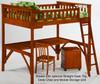Timber Creek Loft Bed Cherry   27469   TCLOFT-CHY