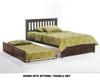 Timber Creek Rosemary Platform Bed Chocolate | 27476 | TCPB-CTE