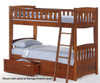 Timber Creek Bunk Bed White | Night and Day Furniture | TCTTB-WH