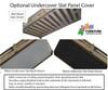 Maxtrix POCUS Low Loft Bed with Slide Platform Twin Size Natural