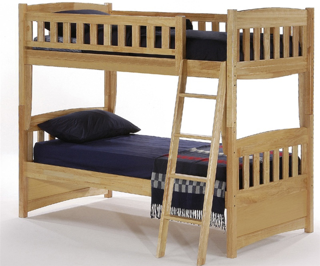 Night And Day Cinnamon Twin Bunk Bed Natural Spice Collection Furniture Twin Bunkbeds And Cinnamon Bunk Beds In Natural Maple Finishes Solid Wood Cinnamon Model Bunkbed