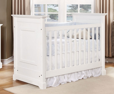 Allen House Waterford Classic Panel Crib White | Allen House | AH-C-WP-01
