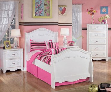 Exquisite Twin Sleigh Bed | Ashley Furniture | ASB188-6263N