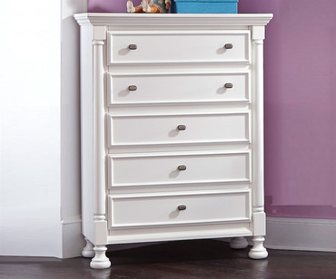 Kaslyn 5 Drawer Chest | Ashley Furniture | ASB502-45