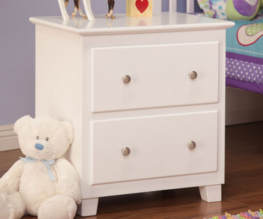 Atlantic Nightstand White | Atlantic Furniture | ATL-C-68202