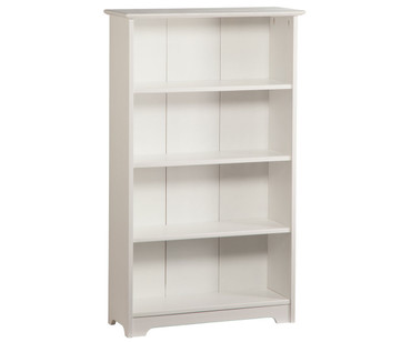 Atlantic 4 Tier Bookcase White | Atlantic Furniture | ATL-C-69302