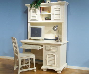 Cottage Traditions Computer Desk | American Woodcrafters | AW6510-342