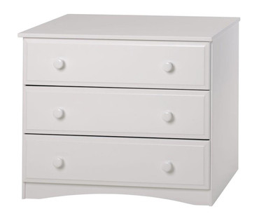 Camaflexi 3 Drawer Dresser White | Camaflexi Furniture | CF-4143