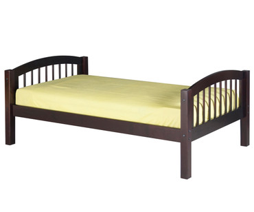 Camaflexi Low Platform Bed Twin Size Cappuccino | Camaflexi Furniture | CF-E102