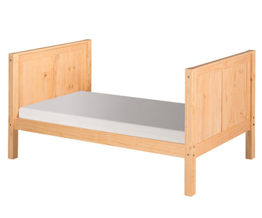 Camaflexi High Platform Bed Twin Size Natural 1 | Camaflexi Furniture | CF-E1021