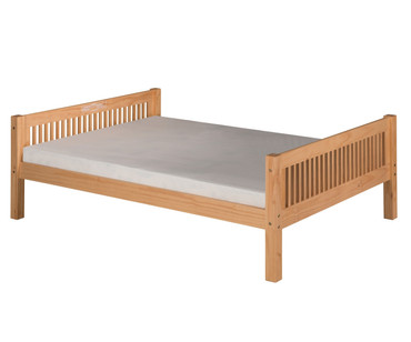 Camaflexi Low Platform Bed Full Size Natural | Camaflexi Furniture | CF-E1411