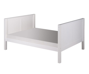 Camaflexi High Platform Bed Full Size White 1 | Camaflexi Furniture | CF-E1523