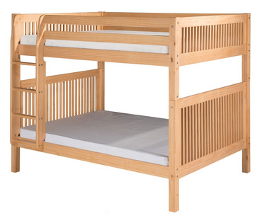 Camaflexi High Bunk Bed Full Size Natural | Camaflexi Furniture | CF-E1611