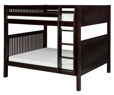 Camaflexi High Bunk Bed Full Size Cappuccino | Camaflexi Furniture | CF-E1612
