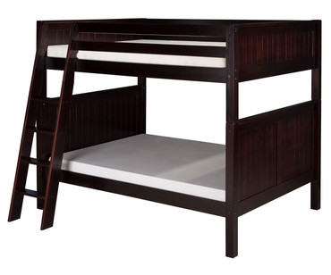 Camaflexi High Bunk Bed Full Size Cappuccino 3 | Camaflexi Furniture | CF-E1622A