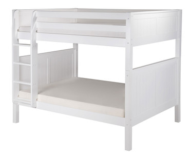 Camaflexi High Bunk Bed Full Size White 2 | Camaflexi Furniture | CF-E1623