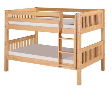 Camaflexi Low Bunk Bed Twin Size Natural | Camaflexi Furniture | CF-E2011