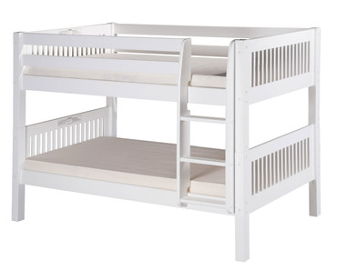Camaflexi Low Bunk Bed Twin Size White 2 | Camaflexi Furniture | CF-E2013