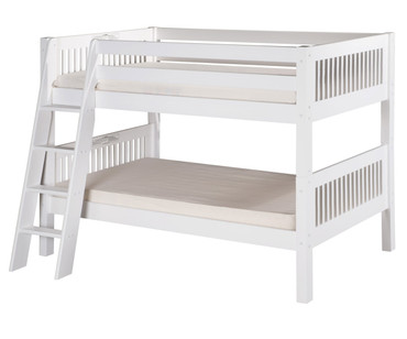 Camaflexi Low Bunk Bed Twin Size White 3 | Camaflexi Furniture | CF-E2013A