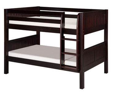 Camaflexi Low Bunk Bed Twin Size Cappuccino 5 | Camaflexi Furniture | CF-E2022