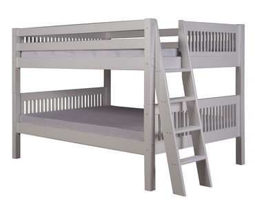 Camaflexi Low Bunk Bed Full Size White 1 | Camaflexi Furniture | CF-E2213L