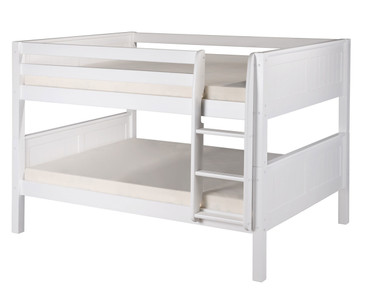 Camaflexi Low Bunk Bed Full Size White 2 | Camaflexi Furniture | CF-E2223